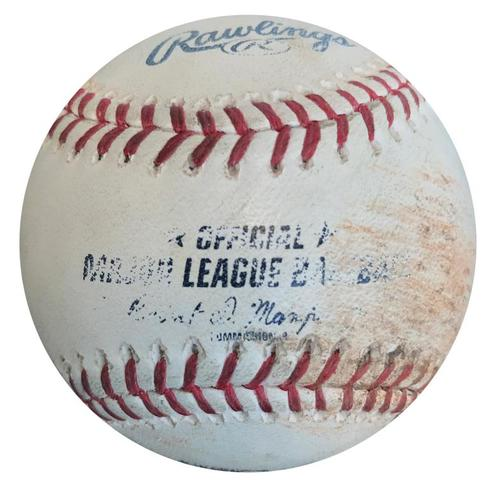 Photo of Game-Used Baseball from Pirates vs. Nationals on 7/23/15 - Clint Robinson Double