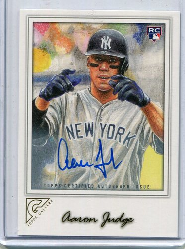 Photo of 2017 Topps Gallery Autographs #117 Aaron Judge