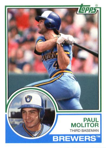 Photo of 2015 Topps Archives #224 Paul Molitor