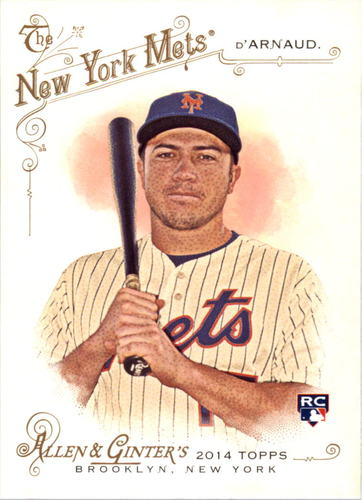 Photo of 2014 Topps Allen and Ginter #17 Travis d'Arnaud RC