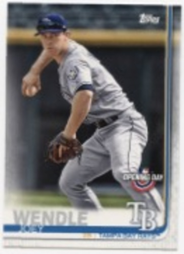 Photo of 2019 Topps Opening Day #191 Joey Wendle