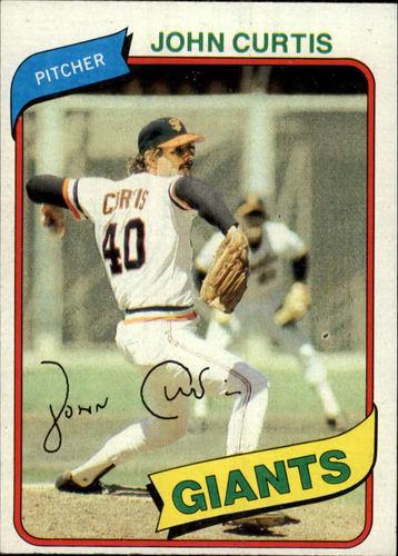 Photo of 1980 Topps #12 John Curtis DP