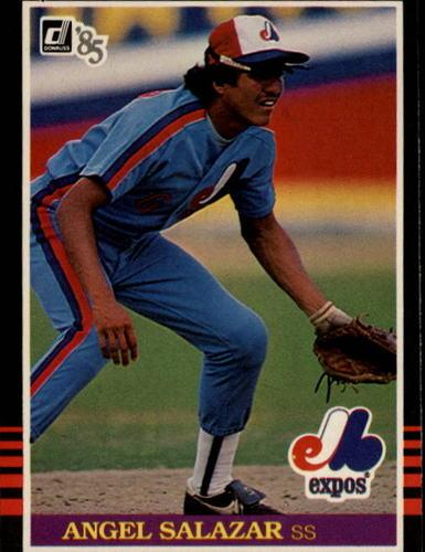 Photo of 1985 Donruss #523 Angel Salazar