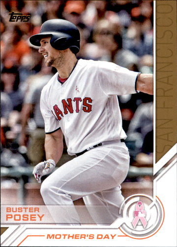 Photo of 2017 Topps Salute #S34 Buster Posey