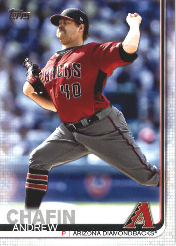Photo of 2019 Topps #484 Andrew Chafin