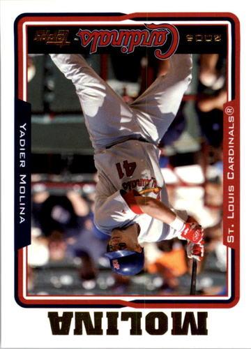 Photo of 2005 Topps #632 Yadier Molina