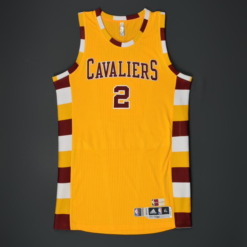 lowest price f7ea5 b4fe0 Kyrie Irving - Cleveland Cavaliers - Game-Worn '1974-80 ...