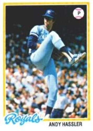 Photo of 1978 Topps #73 Andy Hassler