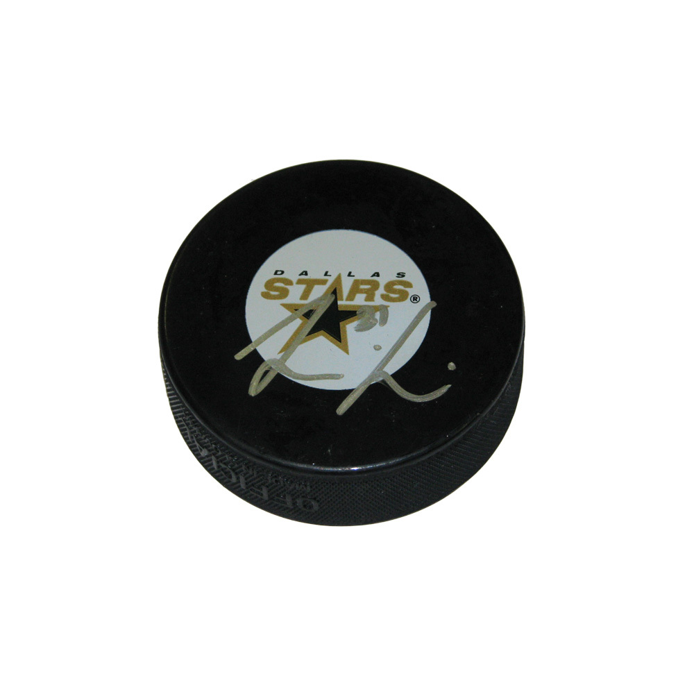 LOUI ERIKSSON Signed Dallas Stars Puck