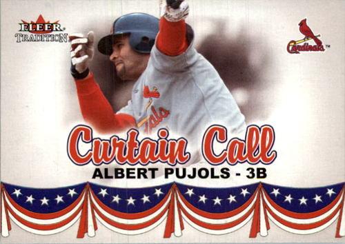 Photo of 2002 Fleer Tradition Update #U368 Albert Pujols CC