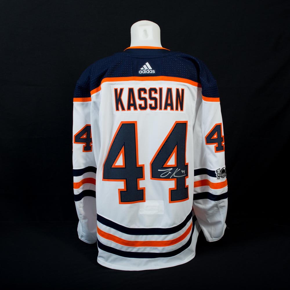 zack kassian oilers jersey