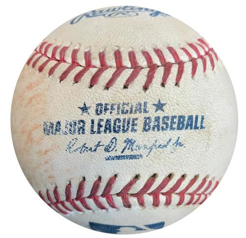 Photo of Game-Used Baseball from Pirates vs. Nationals on 7/23/15 - Andrew McCutchen Single