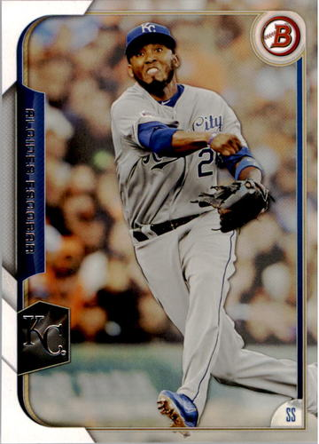 Photo of 2015 Bowman #97 Alcides Escobar