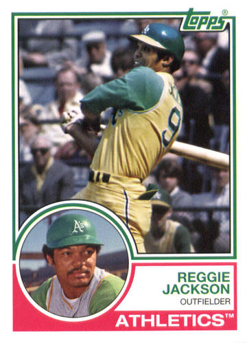 Photo of 2015 Topps Archives #227 Reggie Jackson