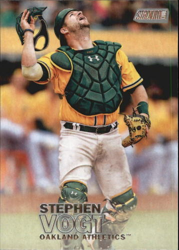 Photo of 2016 Stadium Club #8 Stephen Vogt