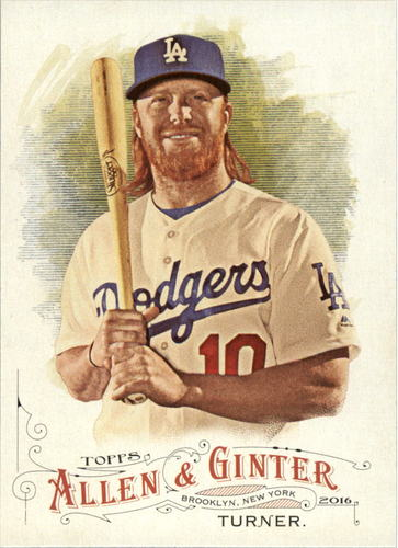 Photo of 2016 Topps Allen and Ginter #108 Justin Turner