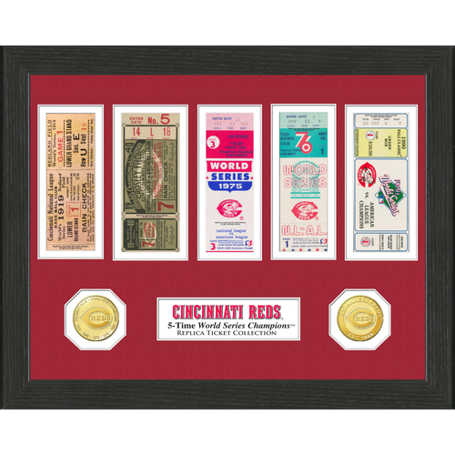 Photo of Cincinnati Reds World Series Ticket Collection