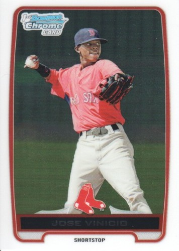 Photo of 2012 Bowman Chrome Prospects #BCP55 Jose Vinicio