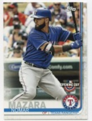 Photo of 2019 Topps Opening Day #192 Nomar Mazara