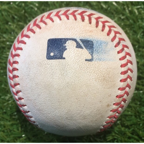 Photo of Game-Used Baseball: Francisco Lindor 774th Career Hit (7/28/19 - CLE @ KC)