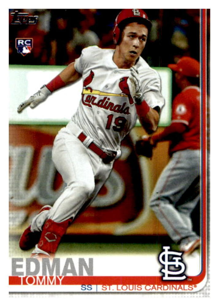 2019 Topps Update #US84 Tommy Edman Rookie Card