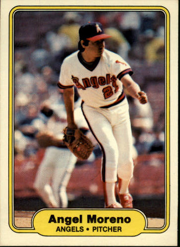 Photo of 1982 Fleer #469 Angel Moreno