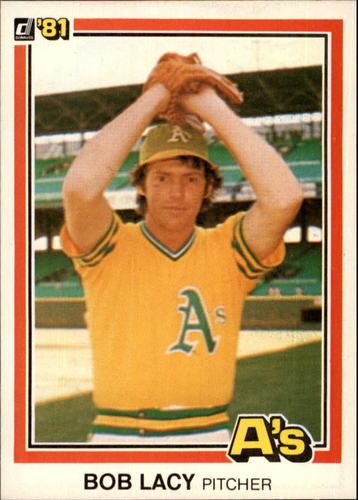 Photo of 1981 Donruss #240A Bob Lacy P1 ERR/Name misspelled/Bob Lacy