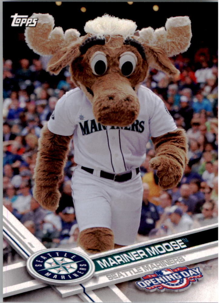 2017 Topps Opening Day Mascots #M14 Mariner Moose