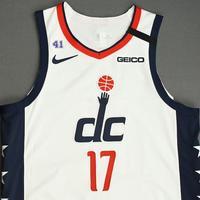Isaac Bonga - Washington Wizards - Game-Worn City Edition Jersey - 2019-20 NBA Season Restart with Social Justice Message