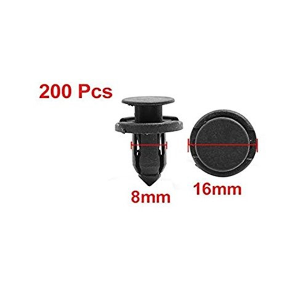 Photo of zhjdongtuo 8mm Car Retainer Clips Bumper Fastener