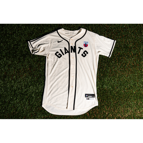 Photo of Promote the Vote: Team-Issued Pablo Lopez Miami Giants Jersey