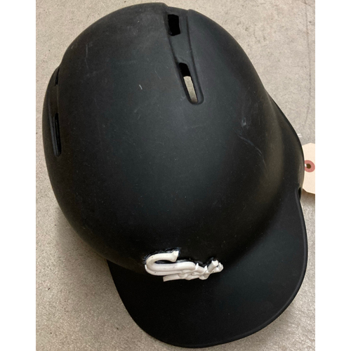 Photo of Black Clubhouse Helmet - #10 - Size 7 1/4 - NOT MLB Authenticated