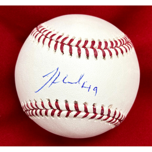 Photo of Jordan Hicks Autographed Baseball