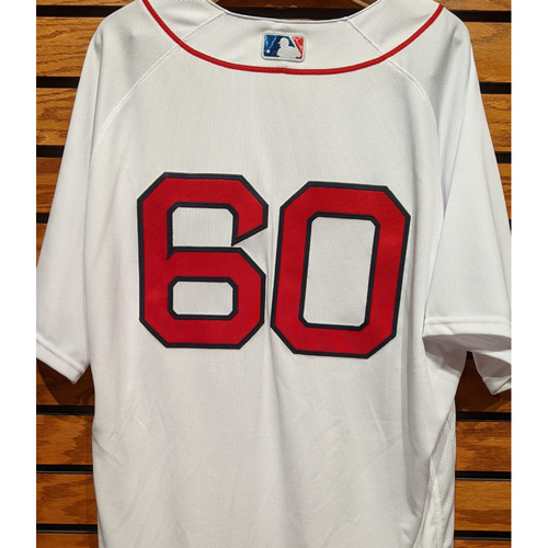 Photo of Coach Dana Levangie #60 Team Issued Home White Jersey
