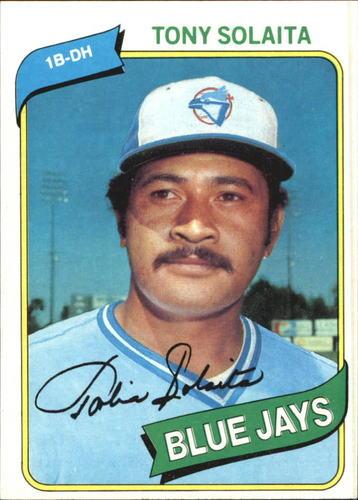 Photo of 1980 Topps #407 Tony Solaita