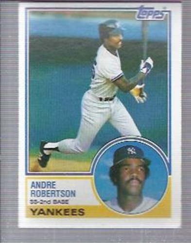 Photo of 1983 Topps #281 Andre Robertson