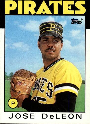 Photo of 1986 Topps #75 Jose DeLeon