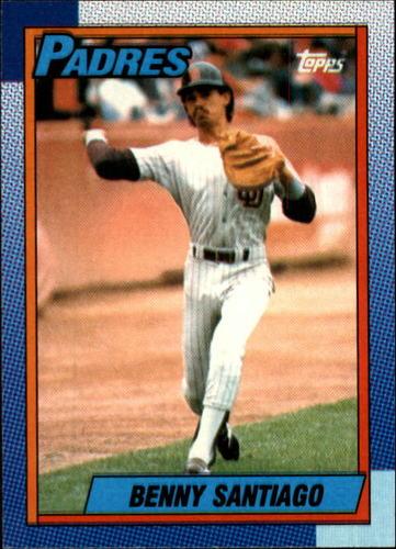 Photo of 1990 Topps #35 Benito Santiago