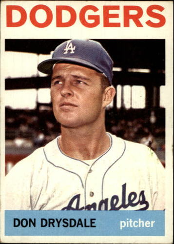 Photo of 1964 Topps #120 Don Drysdale