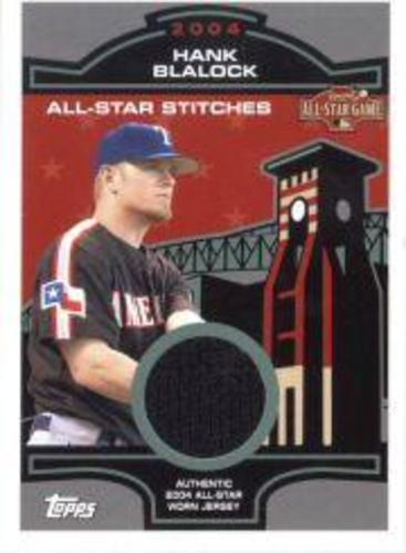 Photo of 2005 Topps All-Star Stitches Relics #HB Hank Blalock
