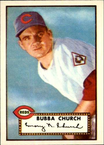 Photo of 1983 Topps 1952 Reprint #323 Bubba Church