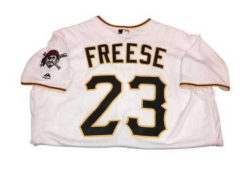 David Freese Team-Issued Home White Jersey