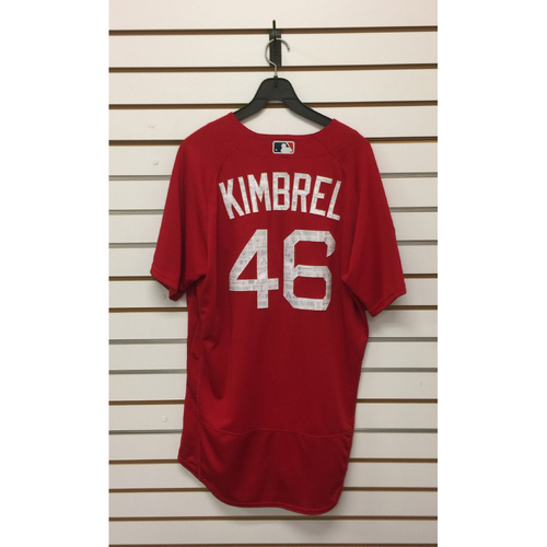 Photo of Craig Kimbrel Team-Issued 2017 Spring Training Jersey
