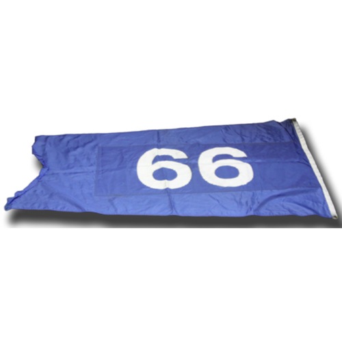 Photo of Wrigley Field Collection -- Cubs Rooftop Flag -- Flown during 2018 Season -- Sammy/66