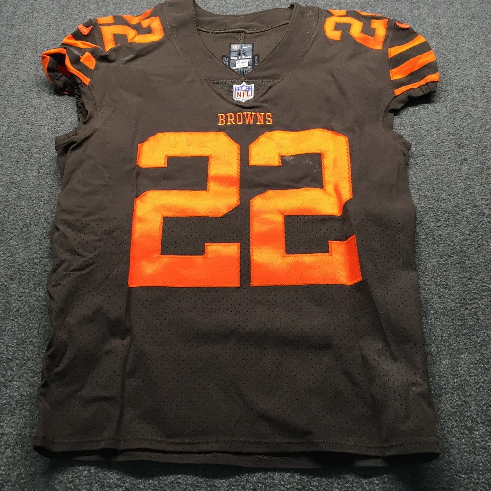 detailed look 8c93c 23f9e NFL Auction | Crucial Catch - Browns Jabrill Peppers Game ...