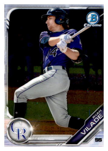 Photo of 2019 Bowman Chrome Prospects #BCP36 Ryan Vilade