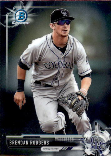 Photo of 2017 Bowman Chrome Prospects #BCP88 Brendan Rodgers