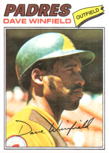 Photo of 1977 Topps #390 Dave Winfield