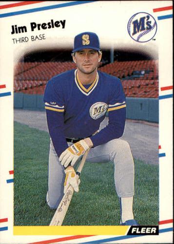 Photo of 1988 Fleer #385 Jim Presley