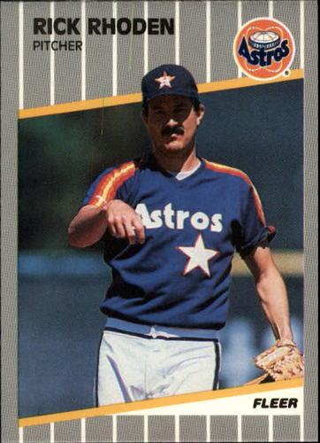 Photo of 1989 Fleer Update #89 Rick Rhoden